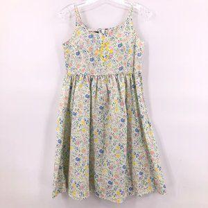 🎪Chaps floral print sleeveless dress